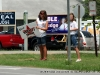 Supporters promoting their candidates at Clarksville High School (District 20)