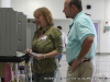 People voting at Clarksville High School (District 20)