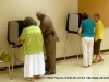 People voting at Montgomery Central Middle School (District 4A)