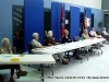 Poll workers at Cumberland Heights Elementary School (District 6A)