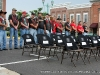 Members of the Vietnam Veterans Motorcycle Club, Legacy Veterans Motorcycle Club, and the 2nd Brigade Motorcycle Club prepare to do their duty to their comrades