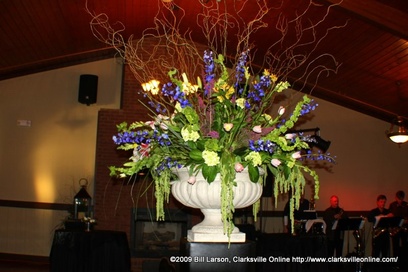 Impressive floral arrangement