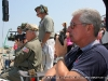 The Air Show staff keeps a close eye on the activities over the field