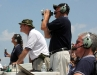 The Sky Boss and other Air Show staff