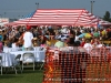 A view of the VIP area at the Salute the Troops concert at Fort Campbell, Ky