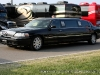 A limousine arrives at the Salute the Troops Concert at Fort Campbell, KY