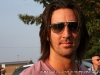 Jake Owen speaks with the press shortly before he goes on stage at the Salute the Troops Concert at Fort Campbell, KY