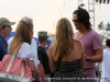 Jake Owen speaks to some VIP guests at the Salute the Troops Concert at Fort Campbell, Ky