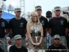 Carrie Underwood has her picture taken with soldiers of the 101st Airborne Division backstage at the Salute the Troops Concert at Fort Campbell, KY