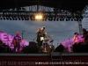 Hank Williams Jr. on stage at the Salute to the Troops Concert at Fort Campbell KY
