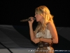 Carrie Underwood performs at the Salute the Troops Concert at Fort Campbell, KY