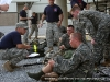 Soldiers prep for the obstacle course at the Toughest Air Assault Soldier Competition
