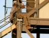 Coming down at the Toughest Air Assault Soldier Competition
