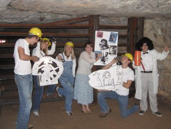 Dunbar Cave's Haunting History Tour cast