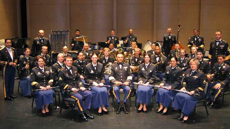 91st Division Army Reserve Band Concert ensemble