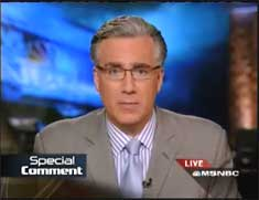 Keith Olbermann's Special Comment