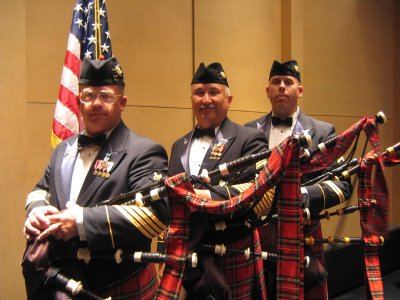91st Division Army Reserve Band Pipes and Drums
