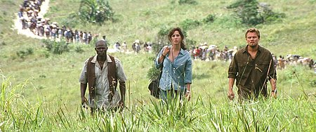 A scene from the movie Blood Diamond