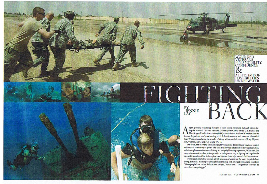 SCUBADIVING.COM August 2007 article