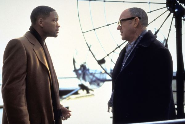 Gene Hackman and Will Smith in Enemy of the State
