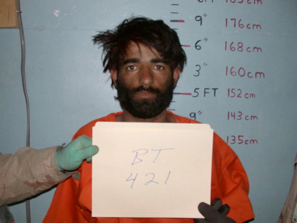 Detainee mugshot