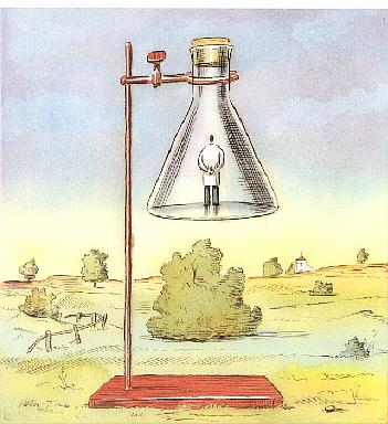Patenting Life: (Flask Illustration by Peter Till )