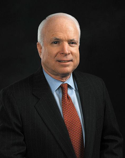 Senator John McCain, Arizona, (R)