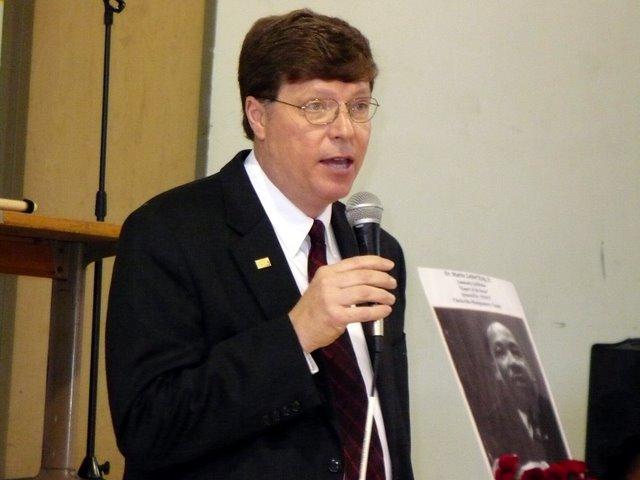 Director of Schools Michael Harris