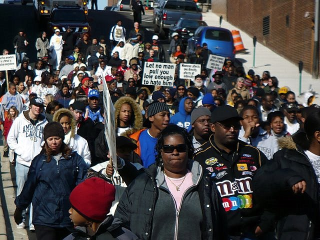 The 2008 Rev. Martin Luther King, Jr. Marchers
