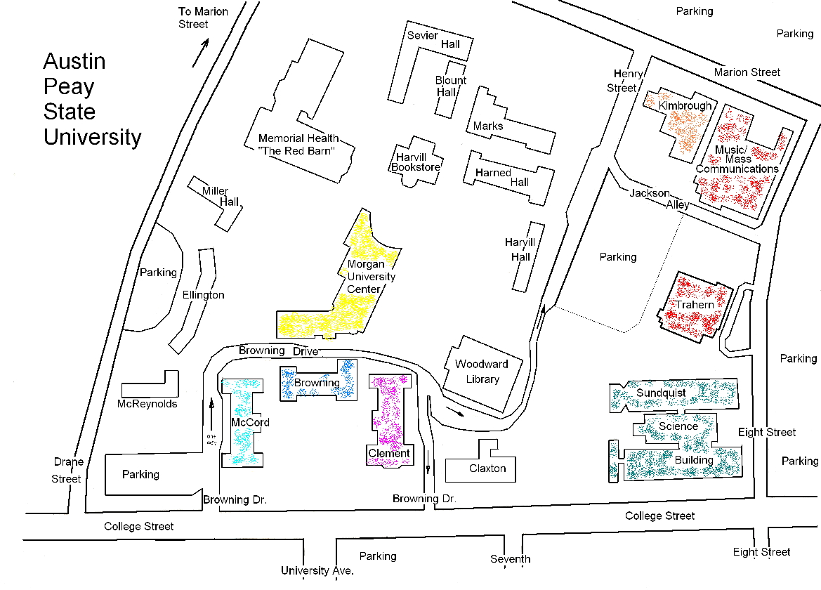 Debbie Boen's APSU map