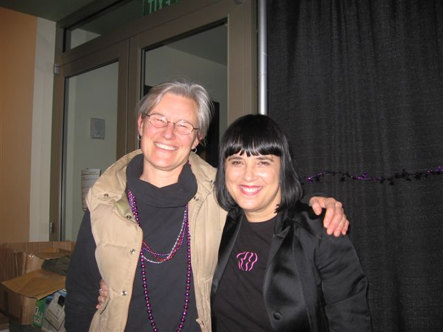Dr. Jill Eichhorn and Eve Ensler