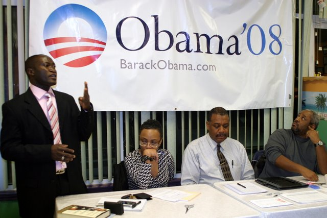 Members of the Clarksville for Obama steering comittee