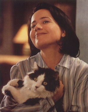 Abby with her cat