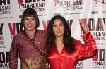 Eve Ensler with Salma Hayek