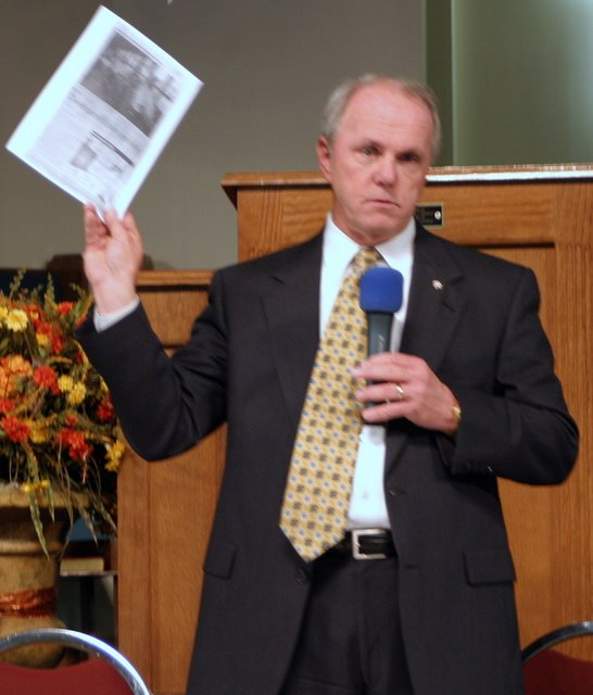 Mayor Piper at the PCA forum