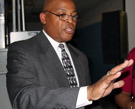 KCDC President Alvin Nance