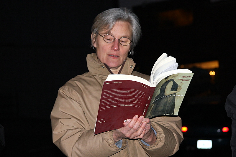 Jill Eichhorn reads from Crisis of the Spirit