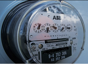 A CDE electric meter