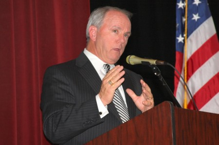 Clarksville Mayor Johnny Piper