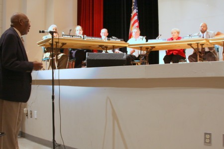 Residents address council