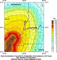 The USGS equipment maps earthquake hazard zones on the spot.
