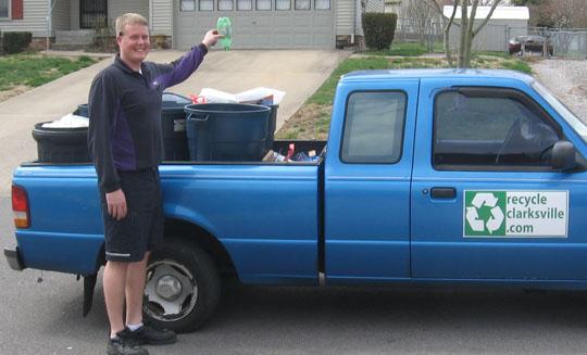 Tim Catchim, Recycle Clarksville