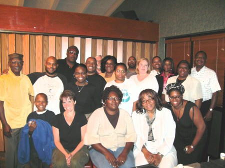 CLarksville citizens meet with CDF organizers Lisa McCloud and Elandria Williams