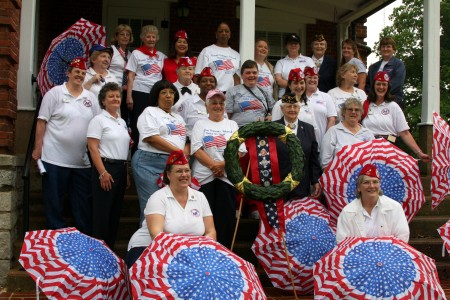 The Women Veterans of America, Chapter #20 at Fort Donelson National Cemetary in 2008