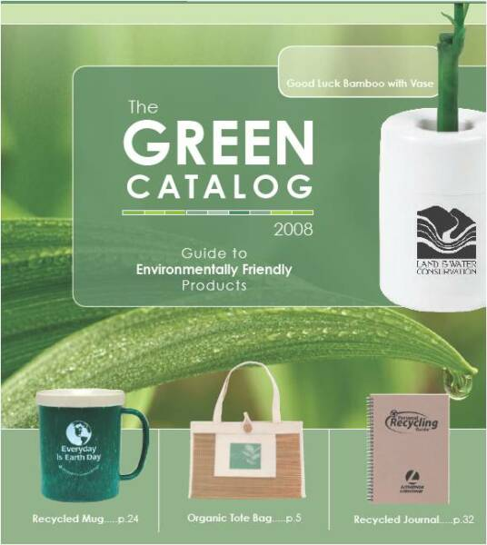 Promote Green Offers Eco Friendly Marketing Merchandise
