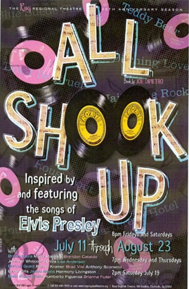 Roxy Poster for All  Shook Up