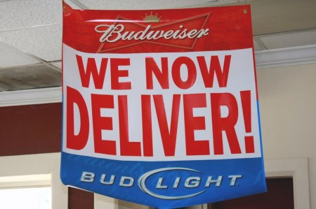 After 4 years, delivery is available!