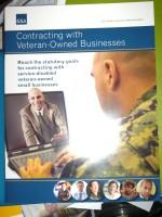 GSA Contracting w/Veteran Businesses Brochure