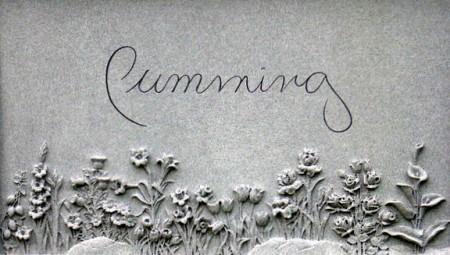 CUMMING: A flower garden