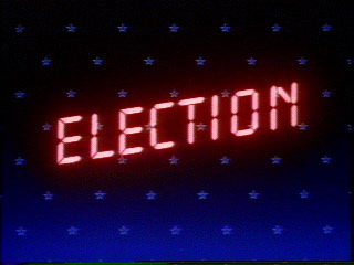 "Neon ""Election"" Sign"